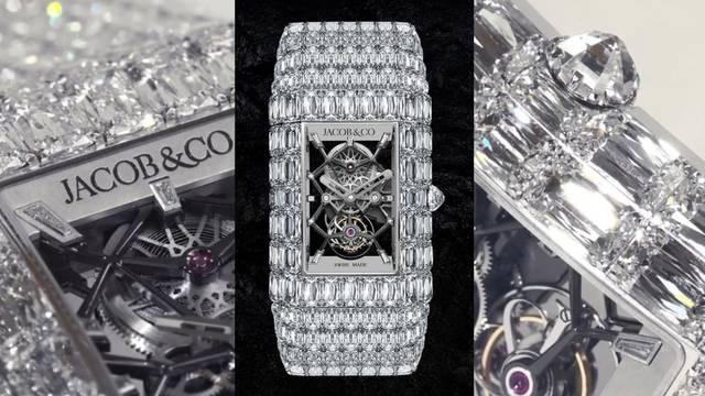 Dijamanti na novom Jacob & Co. satu vrijede 126 milijuna kuna