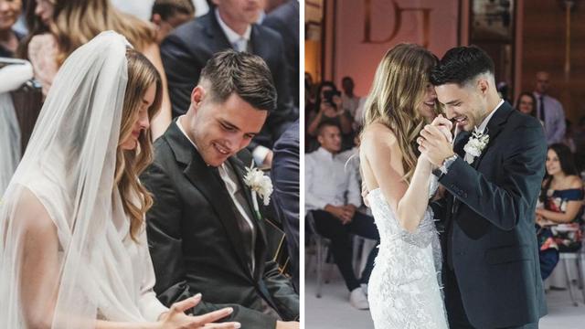 Josip Brekalo objavio je prve fotografije s vjenčanja: 'D & J'