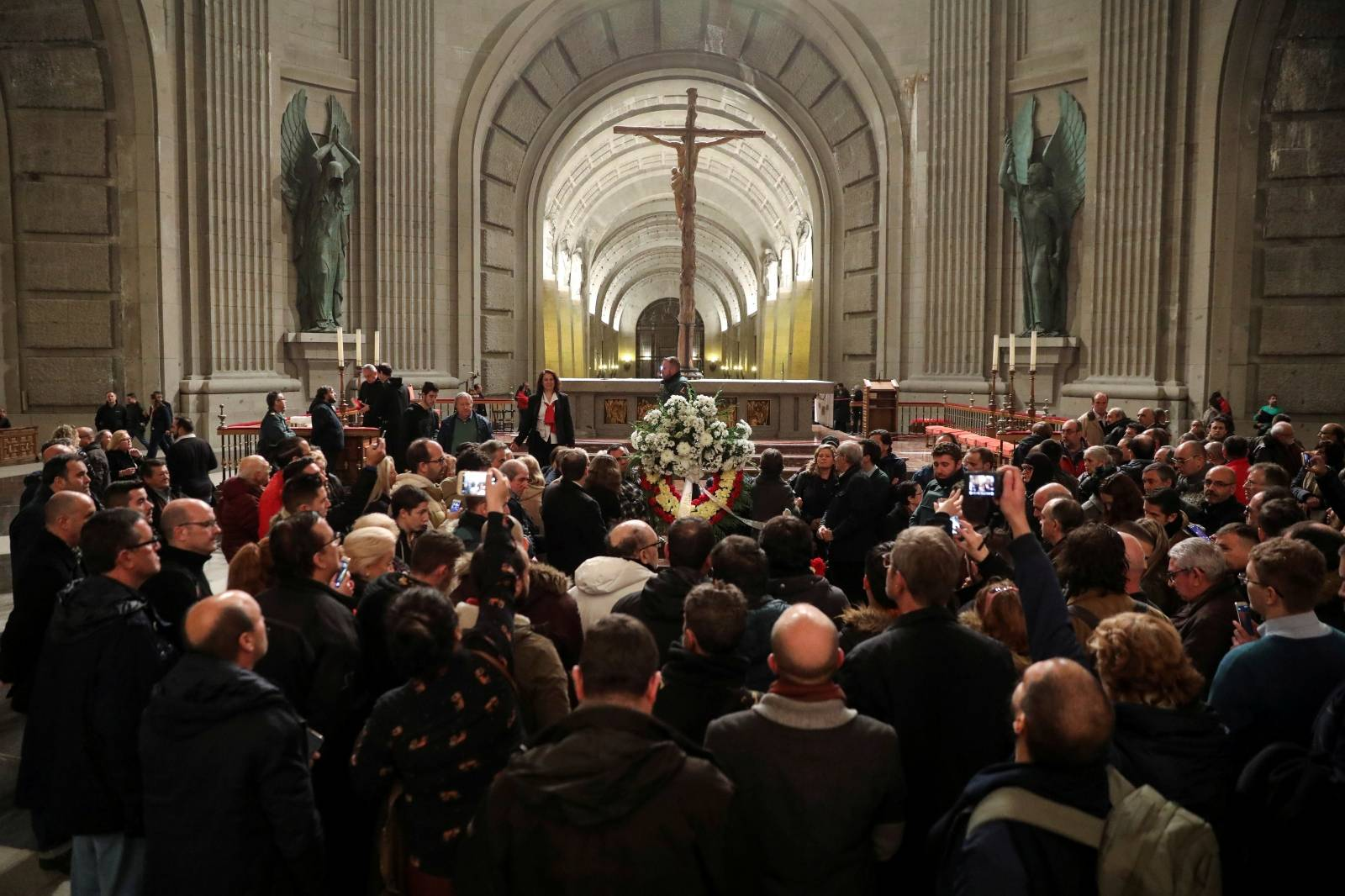 FILE PHOTO: Spain suspends Franco exhumation planned for Monday