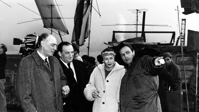 Marlon Brando's father, Sam Spiegel (producer), Brando's mot