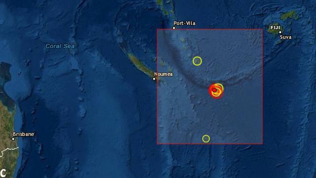 Snažan potres od 7,5 Richtera pogodio otočje blizu Australije