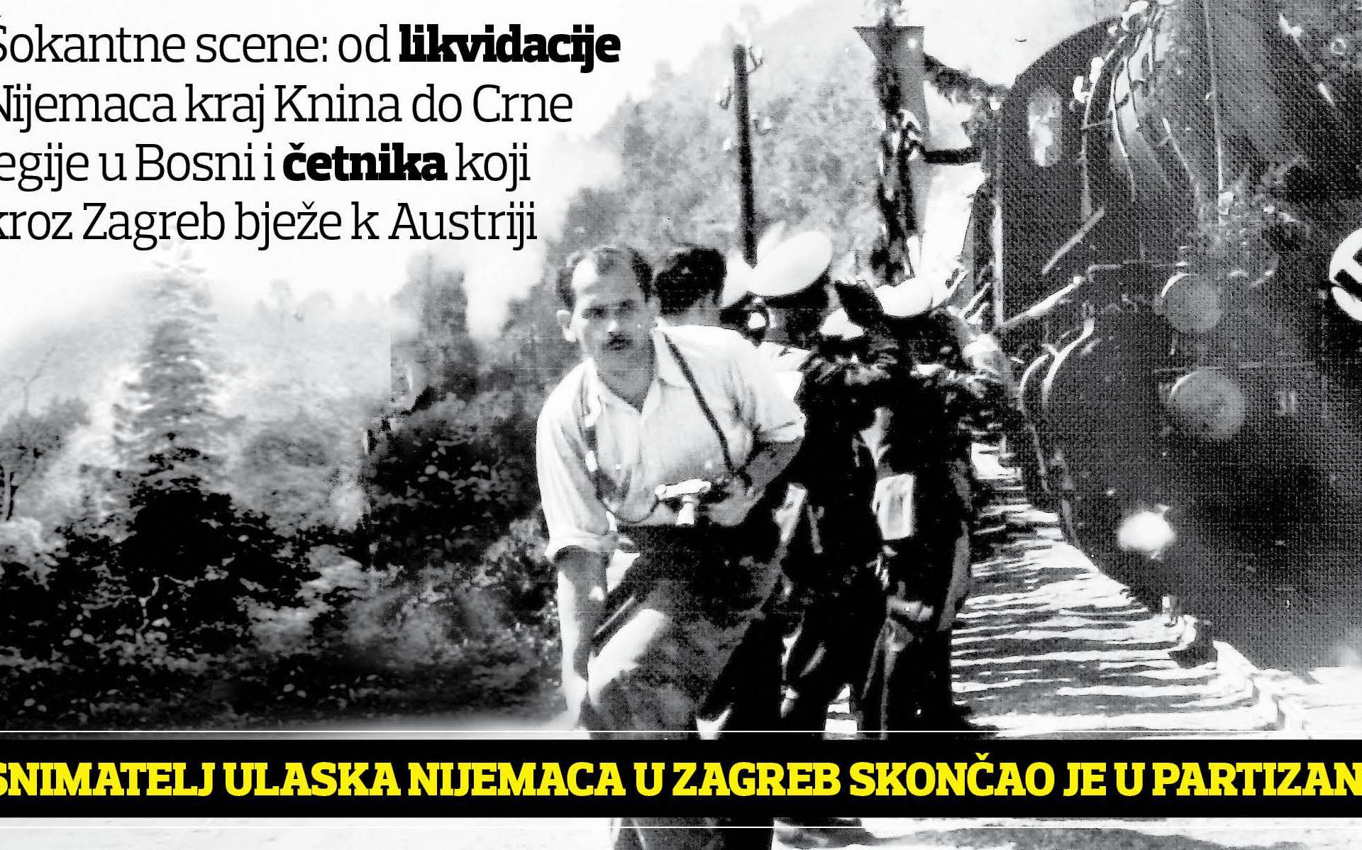 Od likvidacije Nijemaca pokraj Knina do Crne Legije u Bosni