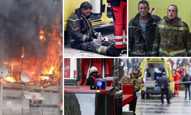 Buktinja u Splitu: Izgorjeli stanovi, petero ozlijeđenih