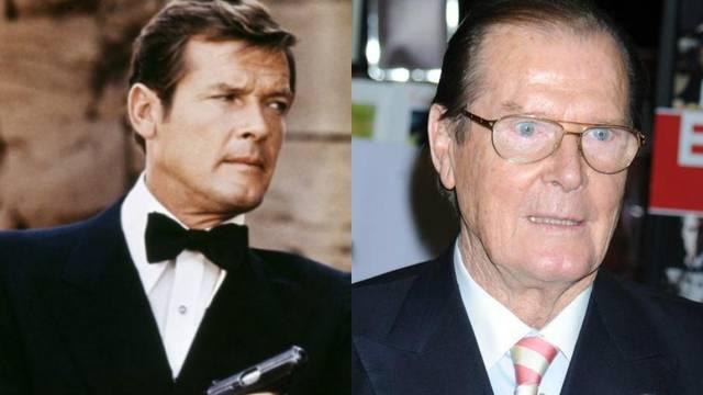 Omiljeni James Bond: Roger Moore izgubio je bitku s rakom