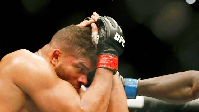 MMA: UFC Fight Night-Washington DC-Overeem vs Rozenstruik