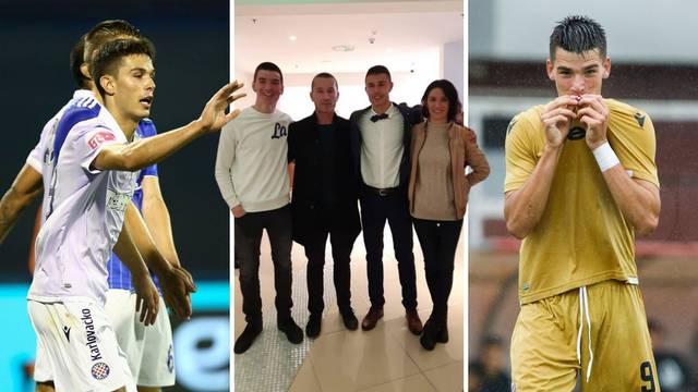Hajdukova zlatna braća: 'Mario voli Messija, a Filip Ronalda...'