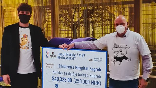 Bosanska zvijer ima veliko srce! Klaićevoj donirao 250.000 kuna