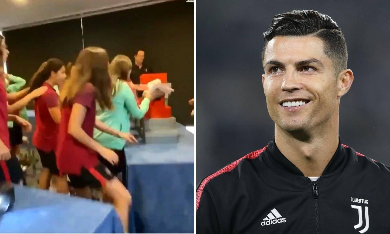Ronaldo kupio kopačke ženskoj reprezentaciji, one zaplakale...