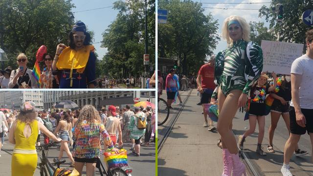 Bečki gay pride - prvo veliko okupljanje nakon lockdowna:  Sudjelovalo je 150.000 ljudi