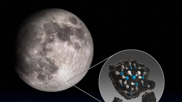 NASA otkrila: Mjesec je prepun površina sa zaleđenom vodom