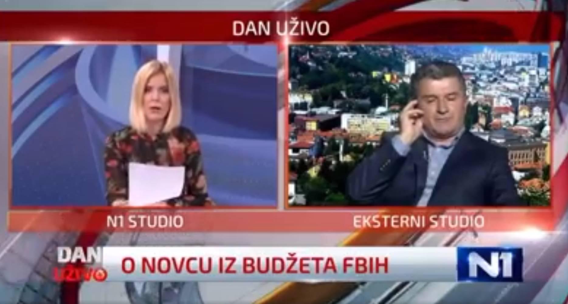 Isprovocirao novinarku iz BiH: 'Hoćete me prestati napadati?'