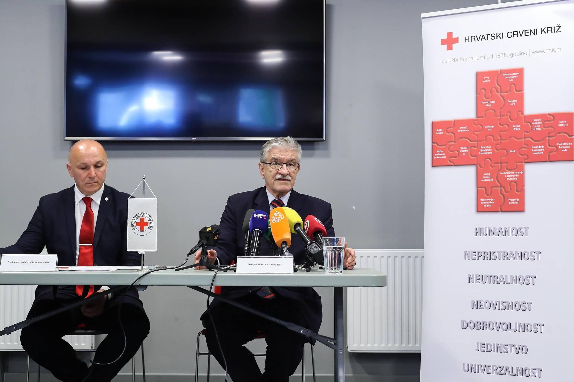 Zagreb: Crveni križ predstavio projekt namijenjen osobama koje su izgubile posao zbog korone