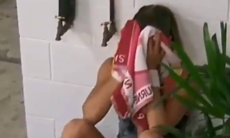 Nije se mogla smiriti: Petra Martić uplakana nakon poraza