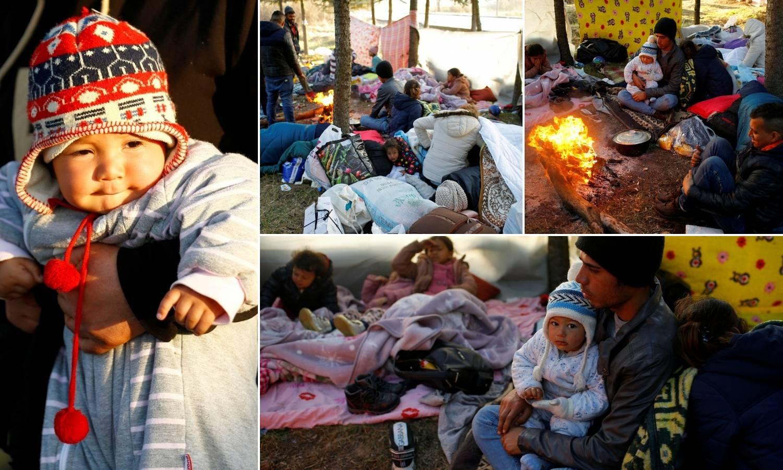 Kriza na granici: Grci i Turci su migrante opet tjerali suzavcem