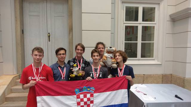 Zlato, srebro i bronca za mlade hrvatske matematičare...