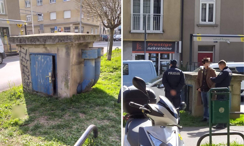 Zagreb: Zaglavio u šahtu i cijelu večer dozivao pomoć