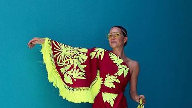 Haljina inspirirana maramom s resicama idealna za ljetni party
