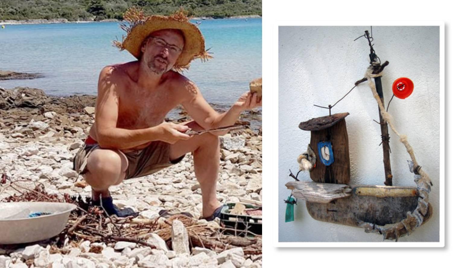 'Flota od šporkice': Radi brodiće od naplavina, spaja bez ljepila