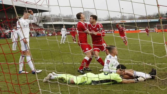 FA Cup - Third Round - Crawley Town v Leeds United