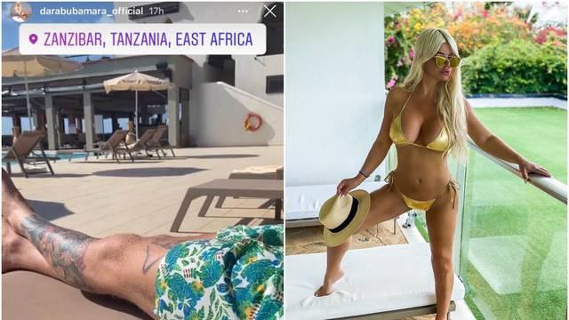 Vruće fotke: Daru je 20 godina mlađi dečko odveo na Zanzibar