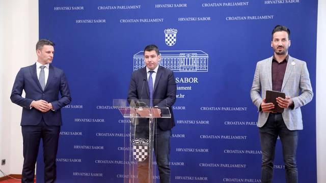 Zagreb:  Klub zastupnika Mosta nezavisnih lista o temi: Prijeteća ovršna kriza