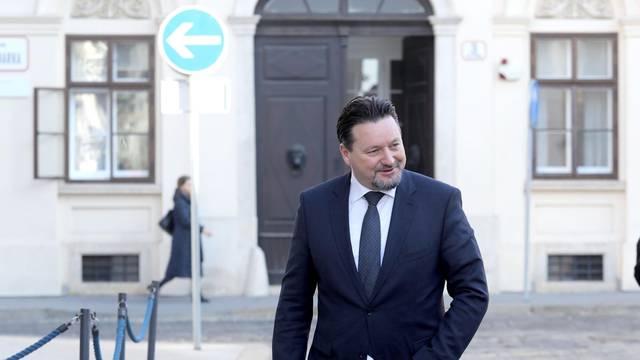 Zagreb: Dolazak ministara na sjednicu Vlade RH