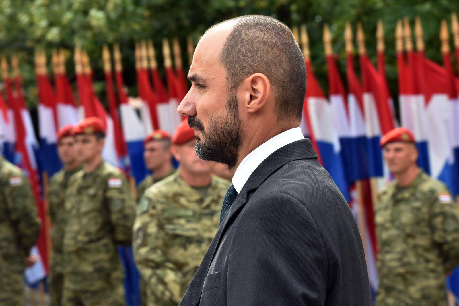 Knin: Boris Milošević, prvi politički predstavnik hrvatskih Srba na proslavi Oluje