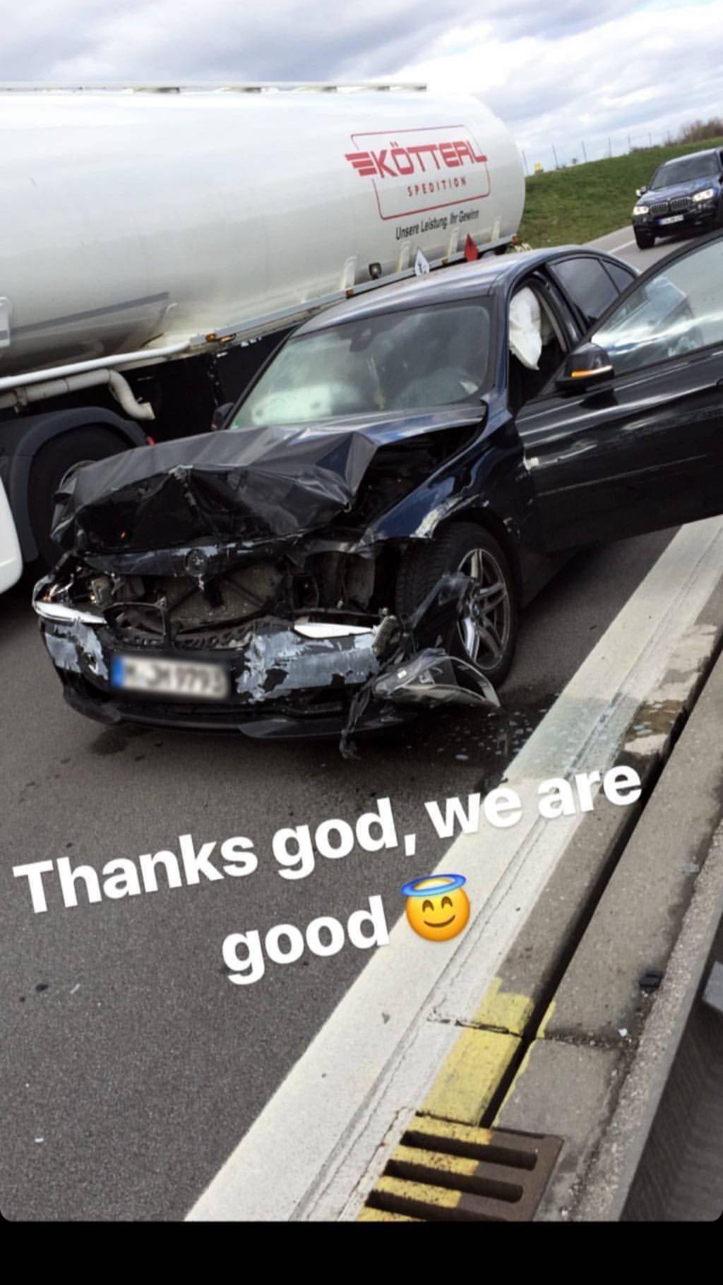 Sin Halida Muslimovića imao je prometnu nesreću u Njemačkoj