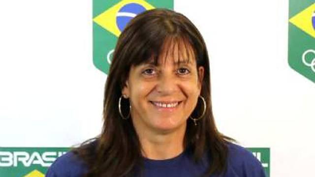 An undated handout photo of Brazilian trap shooter Janice Teixeira