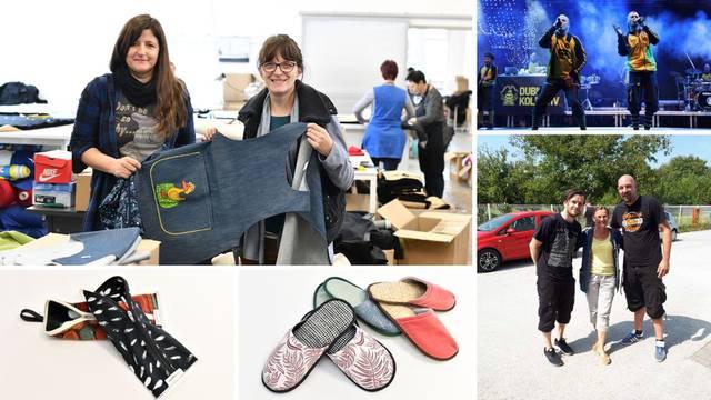 Odijevaju Dubiozu kolektiv i od stare robe rade papuče i torbe