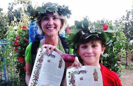Put života: Jan (10) s majkom Sanjom pješke prešao 830 km