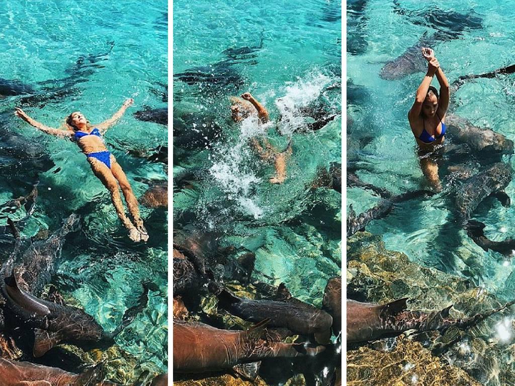 Sve za savršenu fotku: Napao je morski pas dok je pozirala...