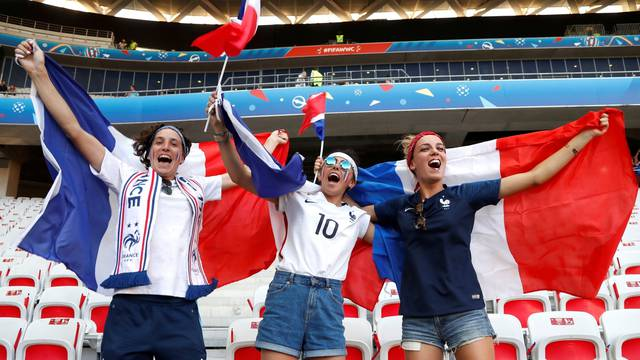 Women's World Cup - Group A - France v Norway