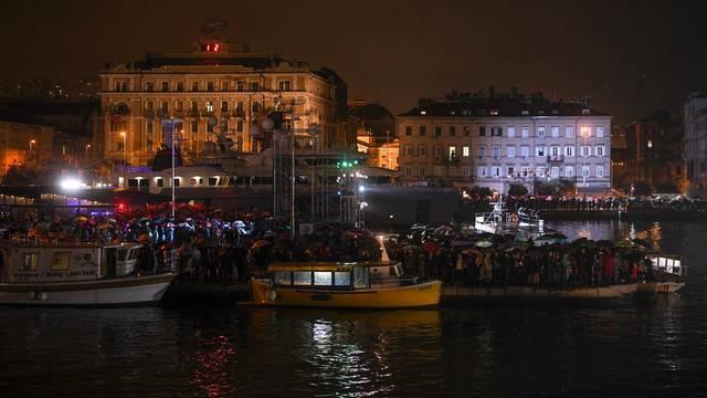 Rijeka: Svečani program otvorenja Europske prijestolnice kulture