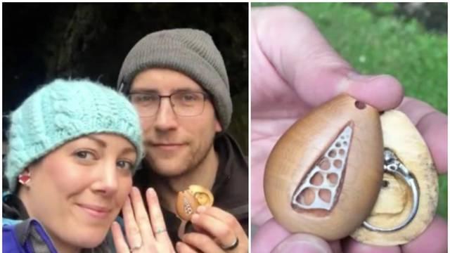 Skriven zaručnički prsten