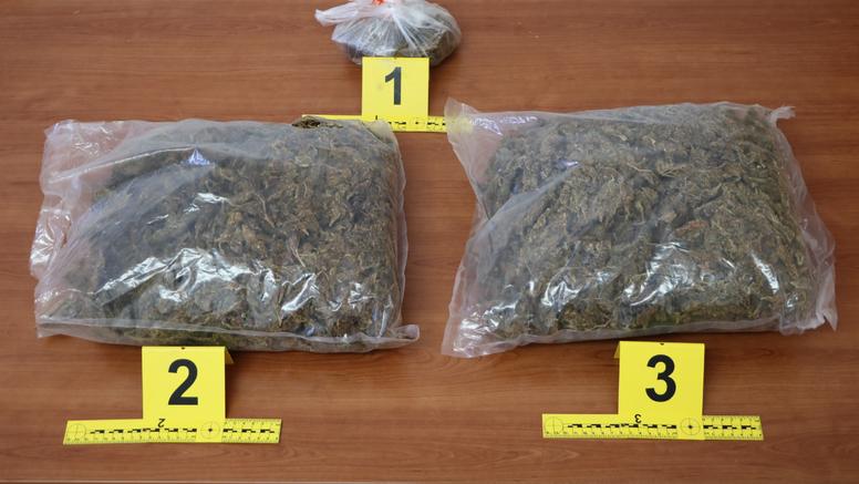 Diler je marihuanu često slao poštom iz Zagreba do Orebića