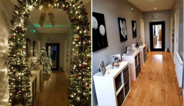 Otac je s malo ukrasa pretvorio dom u čudesnu božićnu bajku