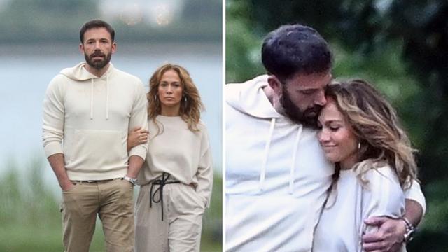 J.Lo i Ben ne skidaju oči jedno s drugoga: U šetnji Hamptonsom izmjenjivali zagrljaje i poljupce