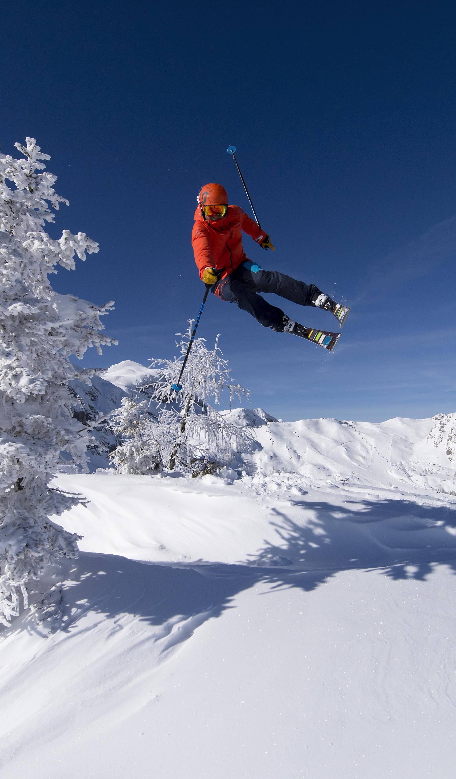 Nassfeld u Koruškoj - sunčano, snježno, iznenađujuće