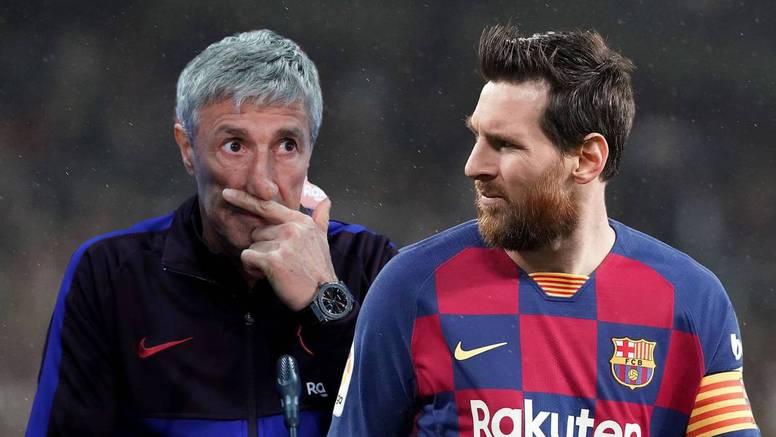 Setien: Messi je bio problem u Barci. Pa što će mi igrač koji odjednom nestane na terenu?
