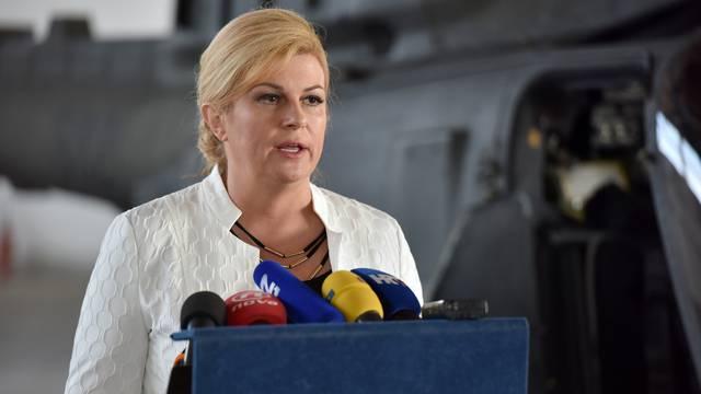 Kitarović pozdravlja poziv da se smire napetosti sa Srbijom