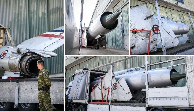 Vratio se Perešinov MiG 21: Pogledajte fotografije s Plesa