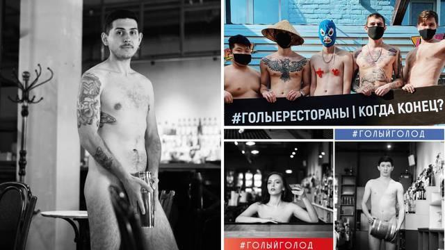 Ruski ugostitelji skinuli sve sa sebe zbog korone: Goli smo jer nam nije preostalo ništa drugo