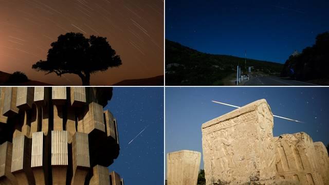 Spektakl na nebu: Pogledajte kako su sinoć 'padale zvijezde'