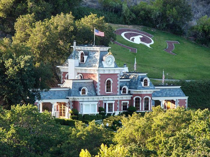Ovako izgleda ranč Neverland: Raskošni dom koji nitko ne želi