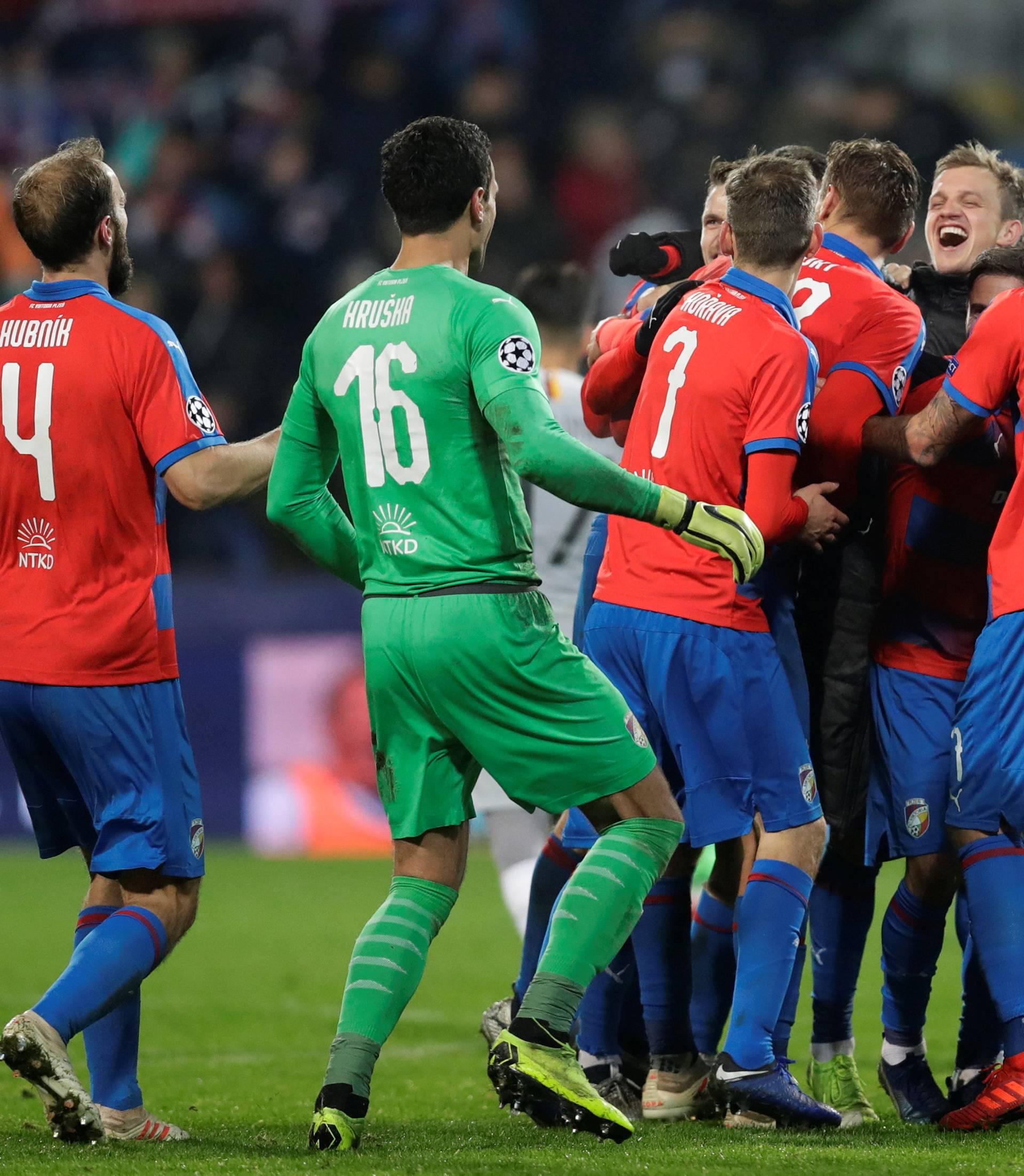 Champions League - Group Stage - Group G - Viktoria Plzen v AS Roma