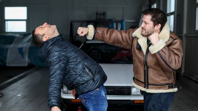 Croata i Šebalj 'zaplesali' tango na snijegu: Riknuo nam je auto