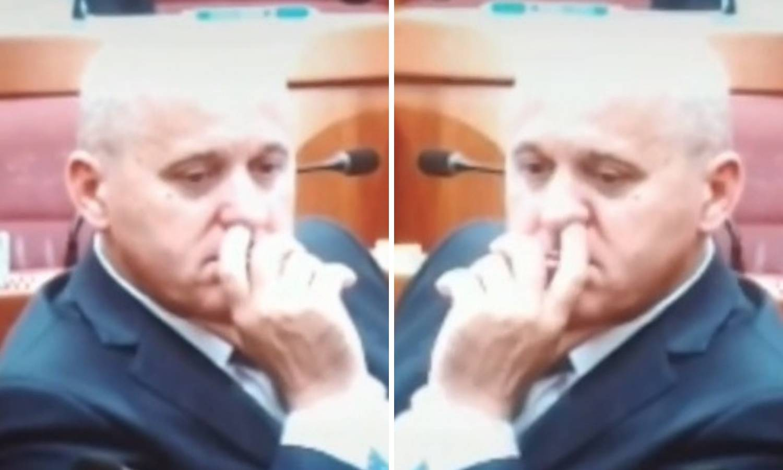 Bačićev prst u nosu dokaz je da u Saboru rade kao u rudniku