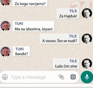 Franjo i Tito traže nasljednike: 'Bandić? Ne, taj laže čim zine'