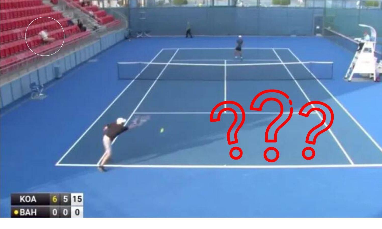 Kakva prevara: 'Tenisač' ostao bez poena, a 'trener' se kladio?